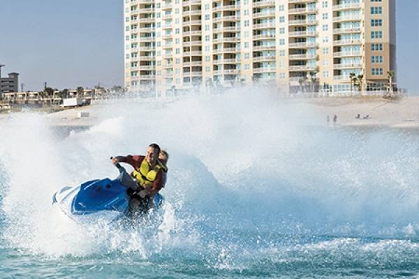 jet skiing in panama city beach florida