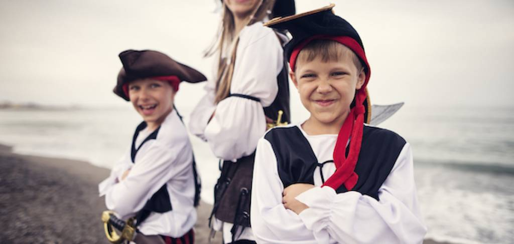 kids as pirates