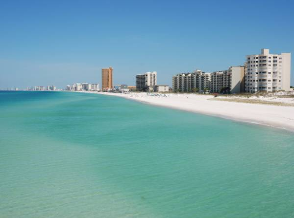 Aqua Resort oceanfront condos in panama city beach florida